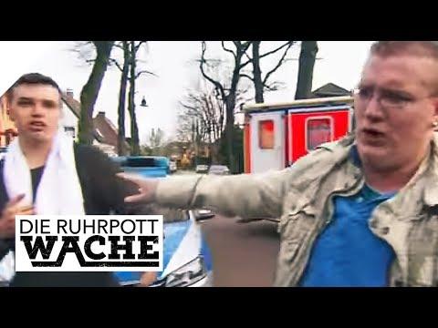 Anspannung bei den Beamten: Rätselhafter Mann völlig von Sinnen   Die Ruhrpottwache   SAT.1 TV