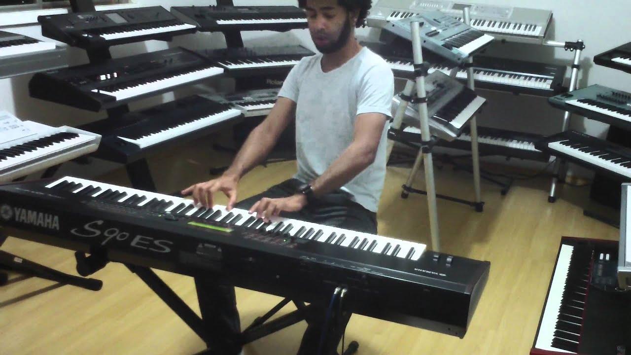 YAMAHA S90 ES DEMO NA CLASSIC KEYBOARDS - YouTube Music