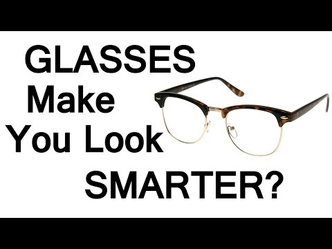 Eye Glasses Make You Look Smarter?  How Eyeglasses Affect Perceived Intelligence Likability Success