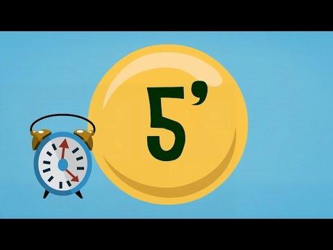 Cuenta atras 5 minutos youtube for Cocinar en 5 minutos