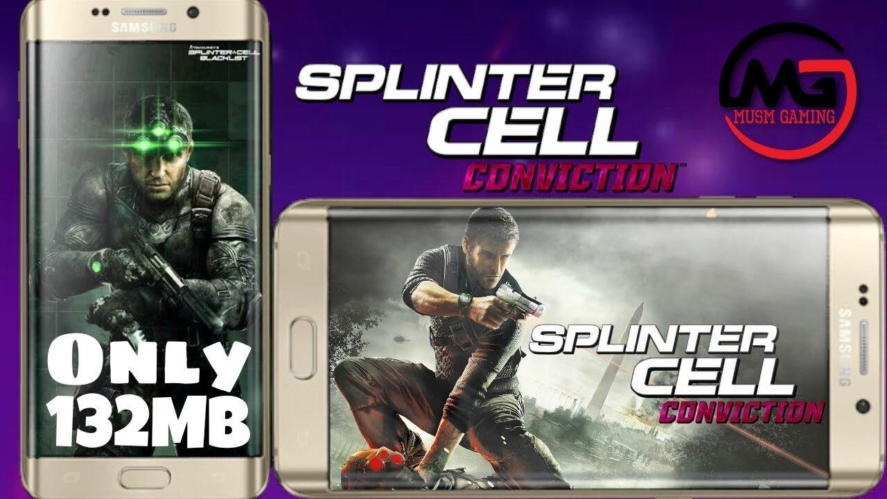 Download splinter cell conviction hd apk 1. 0. 0,com. Gameloft.