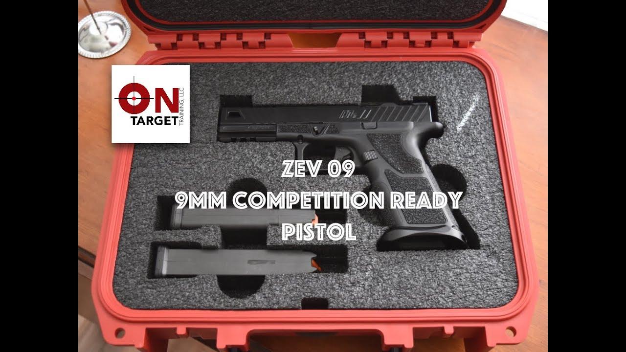 OZ9 Pistol (9mm) Black Barrel and Slide   ZEV Tech