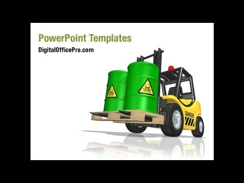 Waste Management PowerPoint Template Backgrounds - waste management ppt