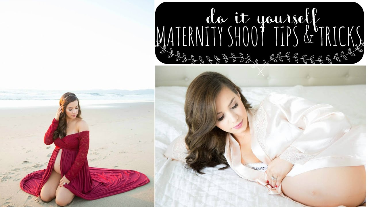DIY Maternity Photo Shoot: How To Take Your Own Maternity Photos ...