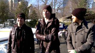 The Script's First Time Ice Skating | Artist Challenge
