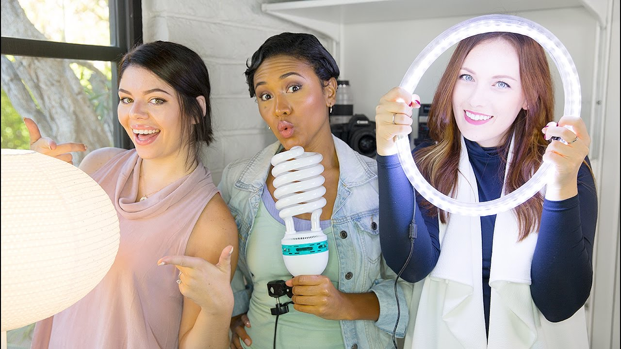 Cheap Diy Video Lighting Collab With The Sorry Girls Tech