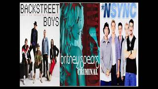 MUSICA POP DE LOS BACKSTREET BOYS, NSYNC Y BRITNEY SPEARS (TEMASOS INOLVIDABLES)
