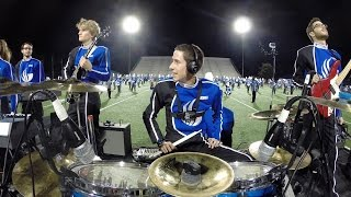 Day in the life - Coop3rdrumm3r w/ GSU Marching Band & Rock Band!