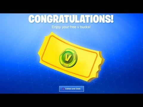 *NEW* FREE V BUCKS REWARD In Fortnite! (How To Get Free V Bucks 2019 For PS4, Xbox One, Mobile, PC)