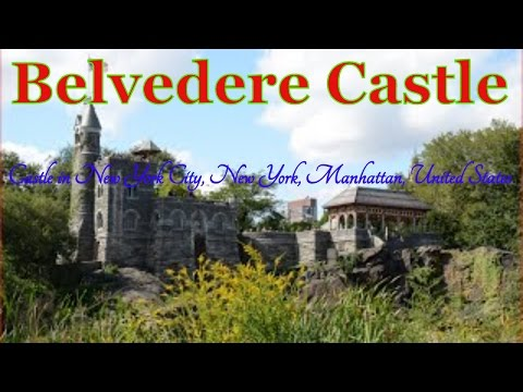 Visiting Belvedere Castle, Castle in New York City, New York, Manhattan, United States