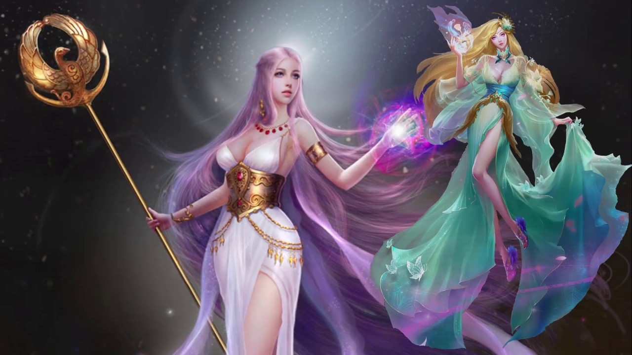 League Of Legend Wallpaper 3d League Of Angels Agility Boost Angel Covenant Youtube