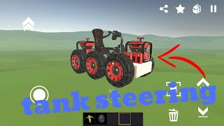 How To Make A Tank Steering Car In EverTech