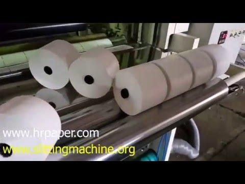 Thermal Paper Slitting Machine / ATM Roll Making Machine