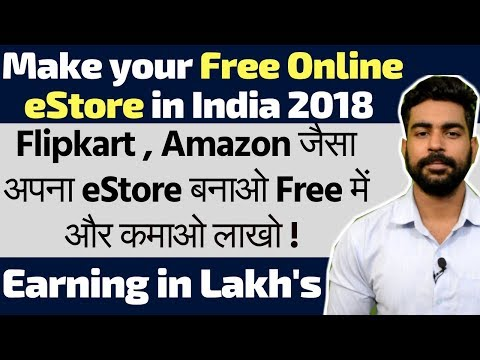 Make your free eCommerce store like Amazon | Earns in Lakh | New way to Earn Money Online | Shopify