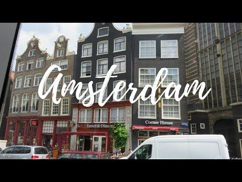 OUTDOOR MOVIE IN AMSTERDAM - Interrailing Vlog - Stop 1