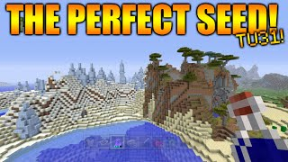 ★Minecraft Xbox 360/PS3: TU31 The Perfect Seed - All NEW Biomes On seed + Rare M Type Biomes★