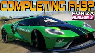 Forza Horizon 3 COMPLETING THE GAME? Playthrough Ep. #2