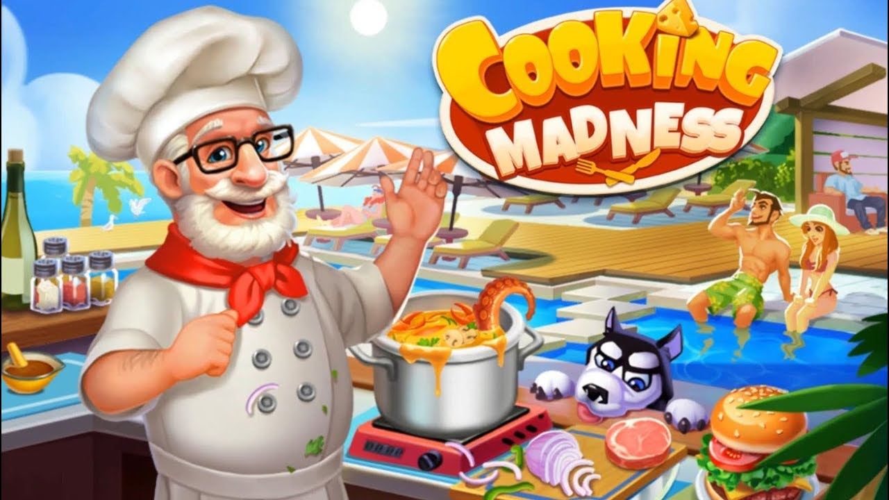 Game Memasak Offline Cooking Madness