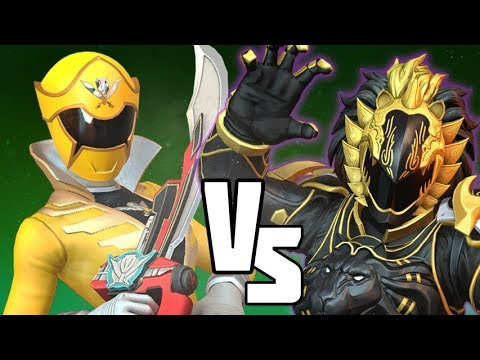Dai Shi Vs Gia Power Rangers Battle For The Grid