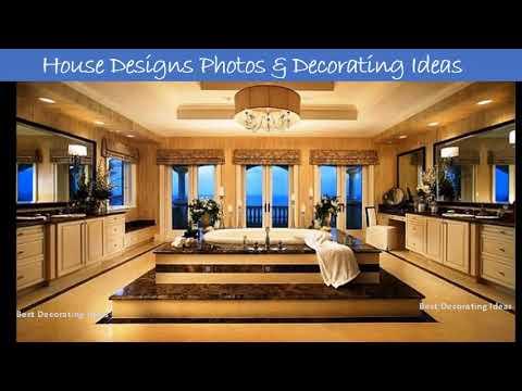 Luxury master bathrooms designs | Pictures of latest modern bathroom toilet decor & interior