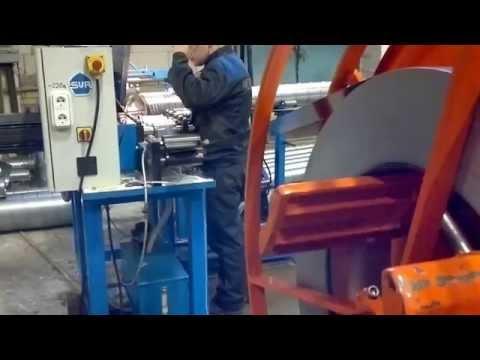Производство спирально - навивных воздуховодов. WWW.STZ.BY