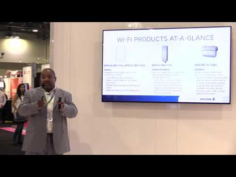 CTIA Wireless Short: Ericsson - Wi-Fi and Microwave Products Keep Your Network Above Water