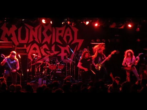 MUNICIPAL WASTE ( live @ Umeda Club Quattro Osaka Japan Jan.30, 2018 )