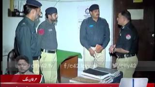 42 Breaking: SSP operations Lahore pays sudden visit to different police stations of the city
