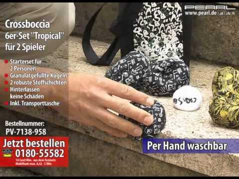 """Crossboccia 6er-Set """"Tropical"""" für 2 Spieler"""