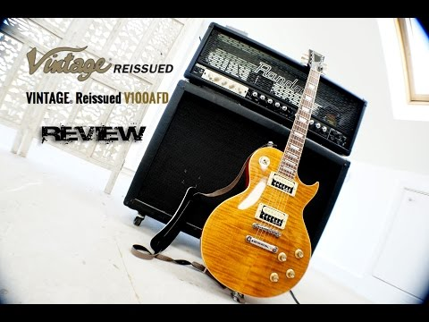 Vintage Guitars V100 AFD Review – Guns'n'Roses – Amplitude 4 Deluxe Slash Amps