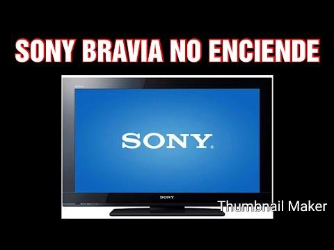 SONY BRAVIA NO ENCIENDE DIAGNÓSTICO PASO POR PASO