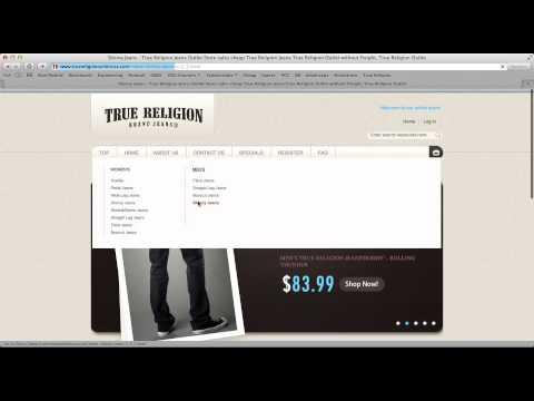 Cheap True Religion Jeans