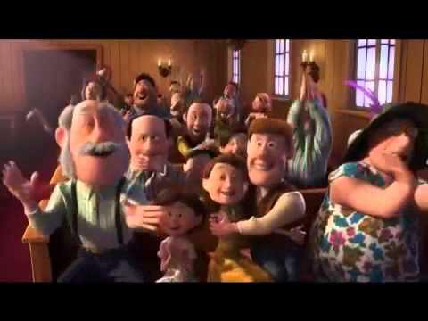 Copy Of Disney Pixar Up Wedding Scene Carl Ellie