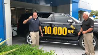 $10,000 OFF a 2017 Chevy Tahoe | Sunset Chevrolet Buick GMC