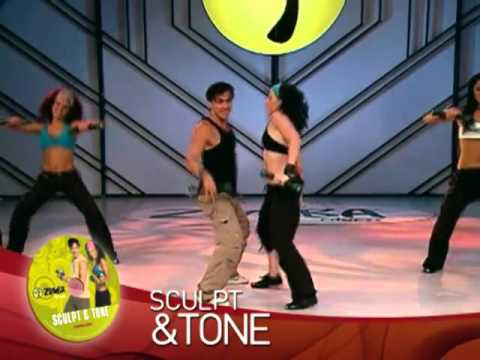 ZUMBA TOTAL BODY TRANSFORMATION SYSTEM DVD SET