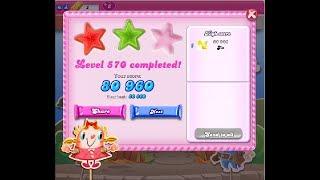 Candy Crush Saga Level 570 ★★ NO BOOSTER