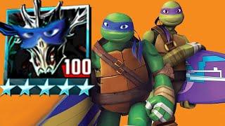 Platinum Krang Classic & Super Shredder  - Teenage Mutant Ninja Turtles Legends