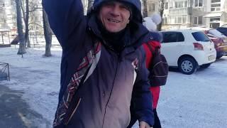 Мое видео.Андрюха Москва пьёт спирт залпом  НЕ ВЫВЕЗ.на что готов мужик
