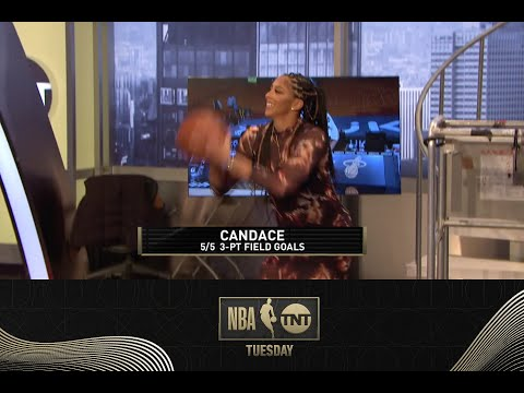 Shaq, Candace Parker & Adam Lefkoe Show Get Shots Up During
