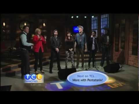 Pentatonix on Twin Cities Live- Starships