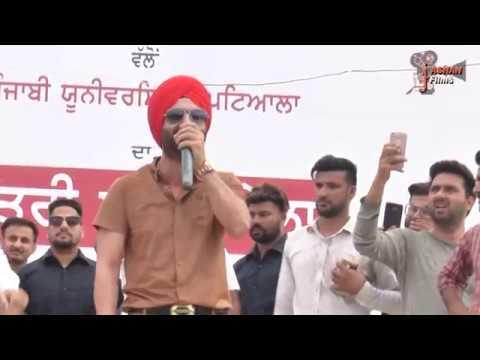 Preet Harpal: Pagg Wali Selfie live show rajpura2017