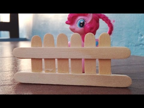 Make a Popsicle Stick Toy Fence - DIY Crafts - Guidecentral
