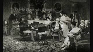 Paul Badura-Skoda Chopin Polonaise-Fantaisie As-Dur Op.61