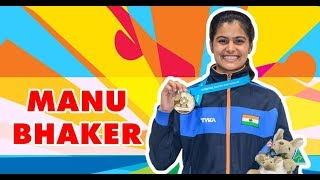 5 things you didn't know about Manu Bhaker | CWG 2018 | Femina