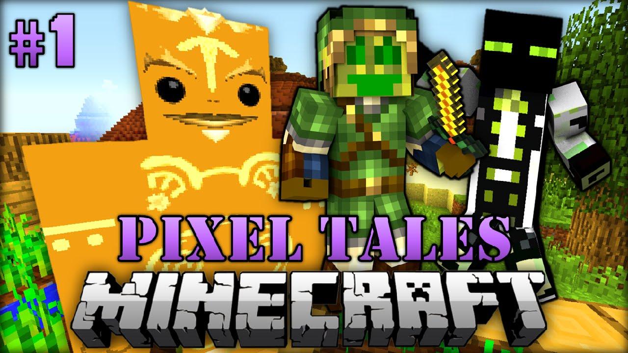 pixelige abenteuer  minecraft pixel tales 001 deutsch