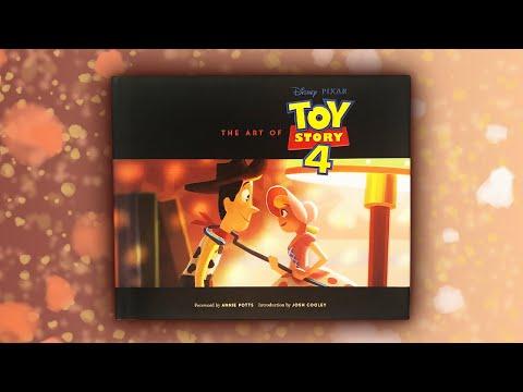 ИСТОРИЯ ИГРУШЕК 4 Коллекционные Книги ДИСНЕЙ Артбук The Art of TOY STORY 4