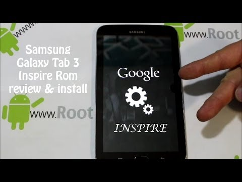 Samsung Galaxy Tab 3 7in SEAL custom rom install and review Listen