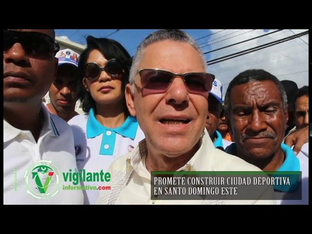 Promete construir Ciudad Deportiva