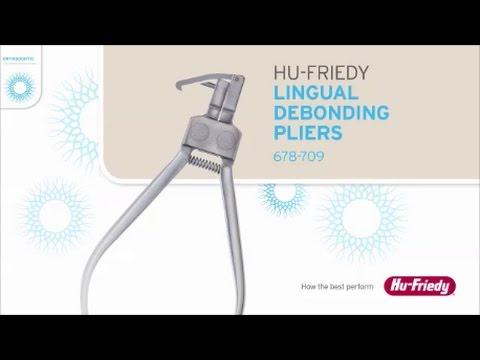 Hu-Friedy Lingual Debonding Pliers 678-709