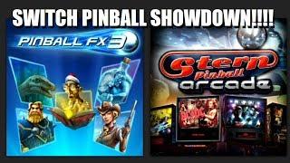 Nintendo Switch Pinball FX3 vs Stern Pinball Arcade - Switch Pinball Showdown